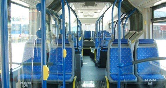Porto bus inside