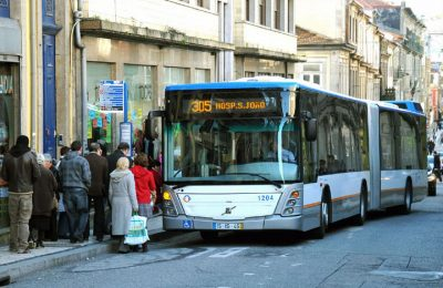 Bus travel in Porto