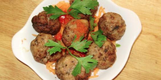 Meatballs at Hellenikon Greek Restaurant, Porto