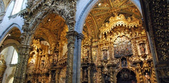 Gothic Baroque St Francis Church, Porto