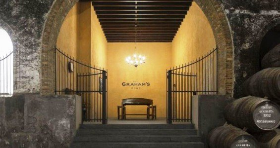 Grahams Porto wine cellars