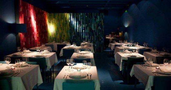 The main blue room of Real Indiana Baixa do Porto