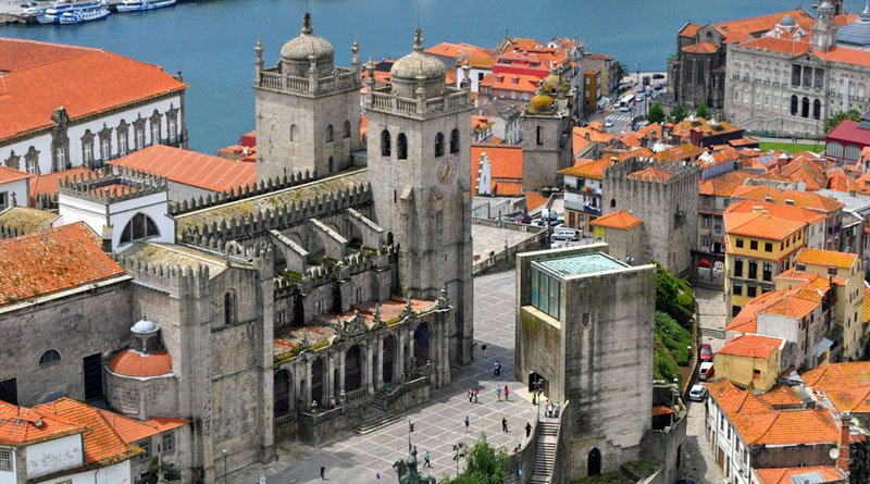 porto se cathedral view